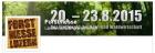 Forstmesse Luzern vom 20. - 23.8.2015